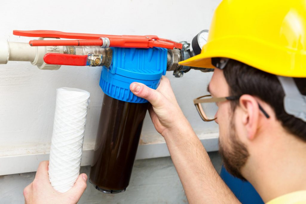 Edmonton Water Experts - Water Softener System 1